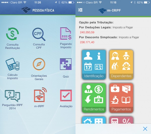 90% dos contribuintes já podem declarar Imposto de Renda nos apps para Android e iOS